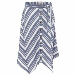 Phase Eight Maggiore Cutabout Stripe Skirt