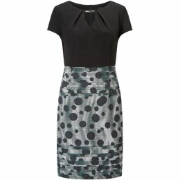 James Lakeland Dots Print Skirt Dress