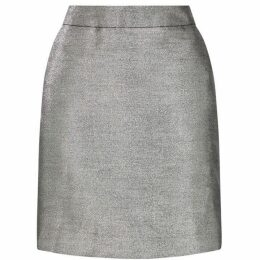 Warehouse Metallic Woven Pelmet Skirt