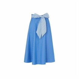LK Bennett Alela Tie Waist Skirt