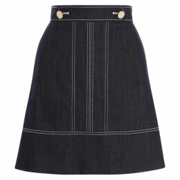 Karen Millen Denim A Line Skirt