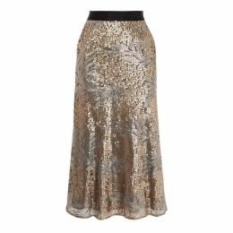 Coast Jana Sequin Skirt