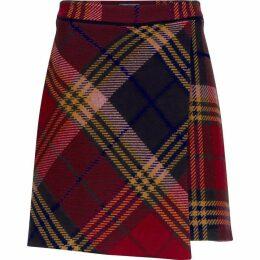 Tommy Hilfiger Kathleen Mini Wrap Skirt