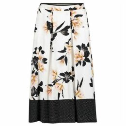 Betty Barclay Floral Print Midi Skirt
