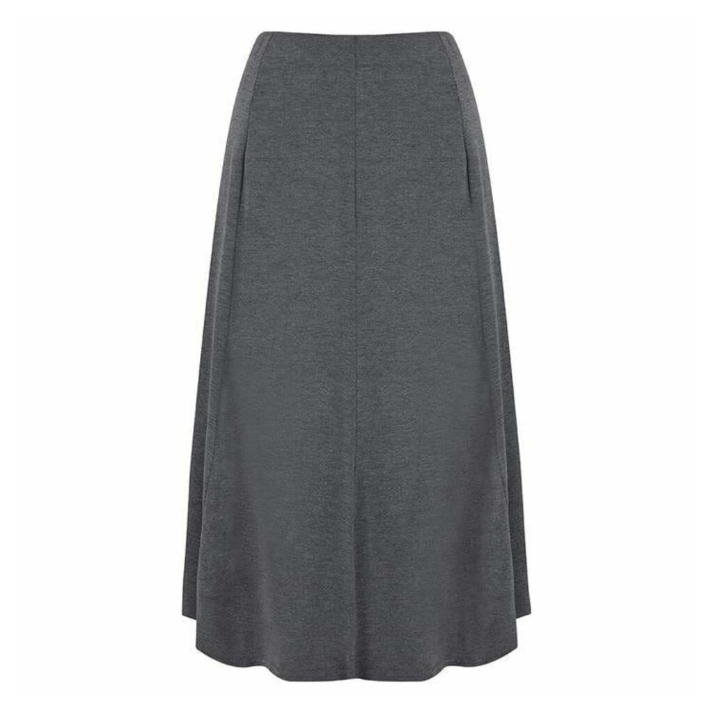 Havren Edie Flared Jersey Skirt