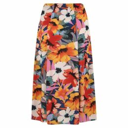 Havren Carmen Printed Flared Skirt