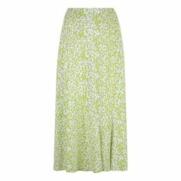 Havren Carrie Bias Flared Skirt