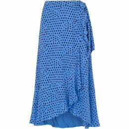 Whistles Lunar Spot Wrap Skirt