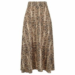 James Lakeland Python Midi Skirt