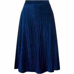 Havren Annette Crushed Velvet Skirt