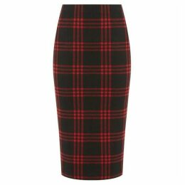 Oasis Tartan Check Tube Skirt
