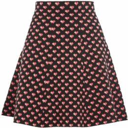 Oasis Maggie Heart Knitted Skirt
