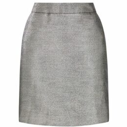 Warehouse Metallic Pelmet Skirt