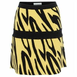Damsel in a Dress Lia Zebra Knit Skirt