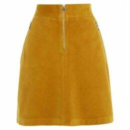 Karen Millen Corduroy Mini Skirt