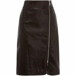 Karen Millen Coated Midi Skirt
