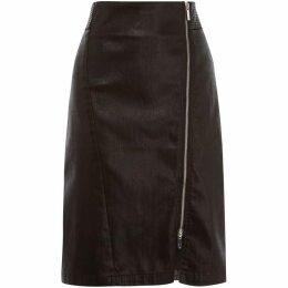 Karen Millen Coated Midi Skirt