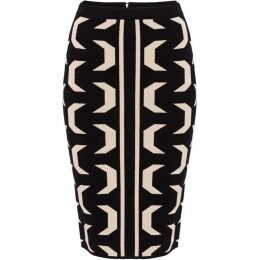 Damsel in a Dress Izzy Geo Knit Skirt