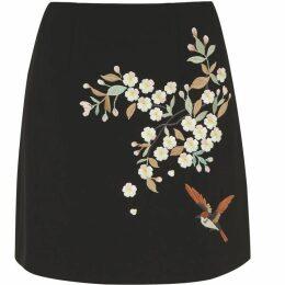Ted Baker Graceful Crepe Skirt