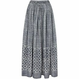 East Tile Print Skirt