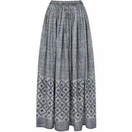East Tile Print Skirt
