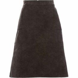 Maison De Nimes A- line pu skirt