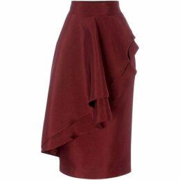 ISSA Ruffle skirt