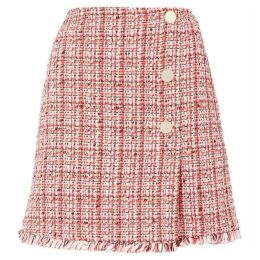 Iblues Naxos tweed skirt