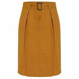 Helen McAlinden Ellie Mustard Skirt