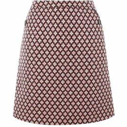 Oasis Jacquard Mini Skirt