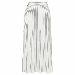 Whistles Gradual Stripe Knit Skirt