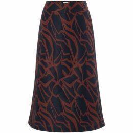 Linea Quinn jacquard skirt