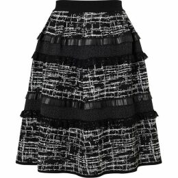 James Lakeland Jacquard Mix Fabric Skirt