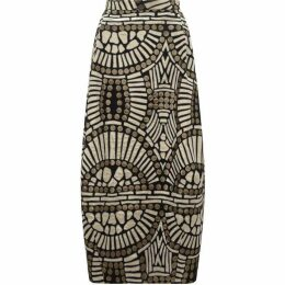 James Lakeland Jacquard Pattern Midi Skirt