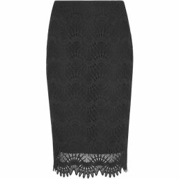 Whistles Amalie Lace Pencil Skirt