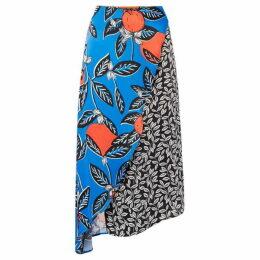 Linea Lorna multi print frill skirt