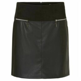 Betty Barclay Faux Leather Skirt