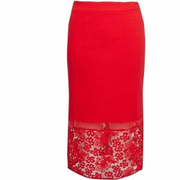 French Connection Deloas Lucky Layer Pencil Skirt