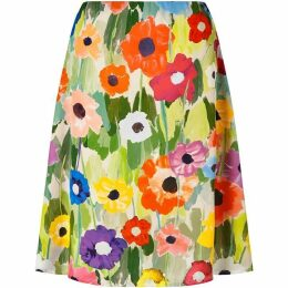 James Lakeland Poppy Print Skirt