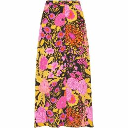 Whistles Luella Bloom Print Skirt