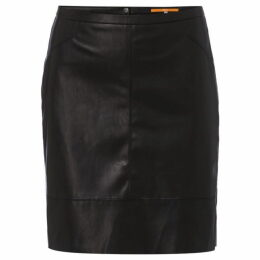 Boss Leather look skirt