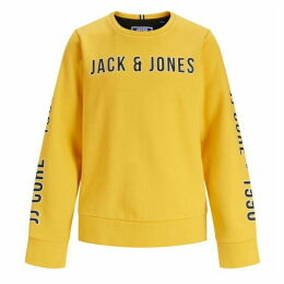 Jack and Jones Junior Large Logo Crew Sweat
