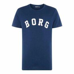Bjorn Borg Bjorn Chst Lg Brn TS Sn92