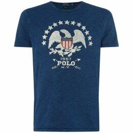 Ralph Lauren Vintage Eagle Printed T-Shirt