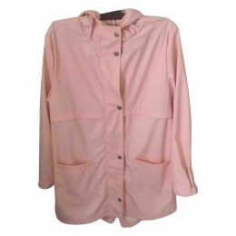 Pink Synthetic Coat