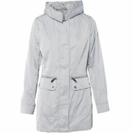 Carolina Cavour Ladies Spring Windbreaker Twill Parkas W Hood