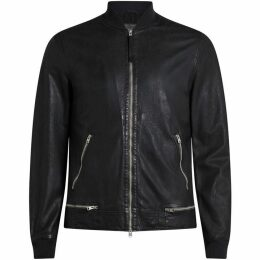 All Saints Madden Leather Bomber