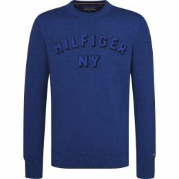 Tommy Hilfiger Mouline Graphic Structured Sweater