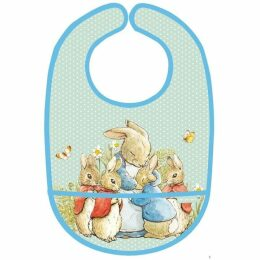 Petit Jour Paris Peter Rabbit PVC Coated Bib