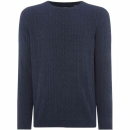 Only and Sons Crew Neck Cable Knit
